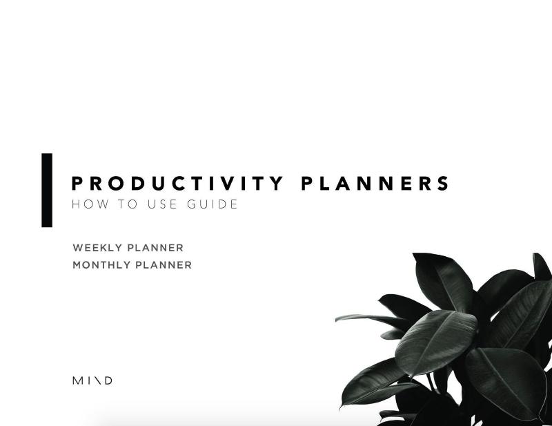 Mindplanner x Productivity