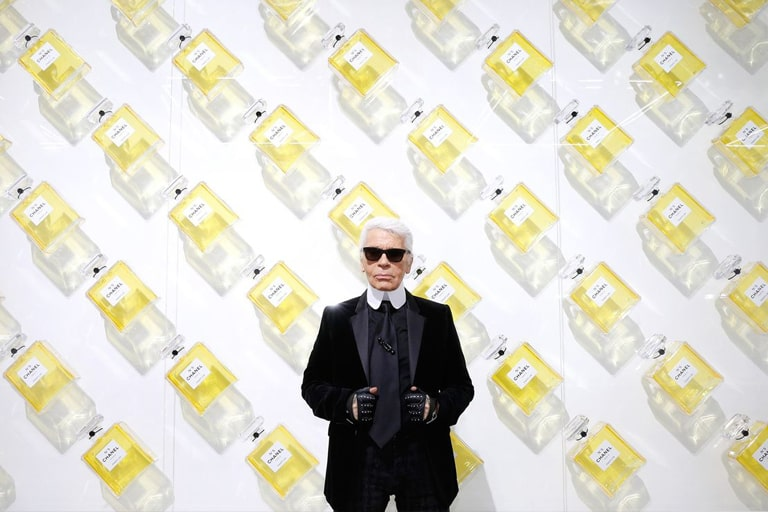 KARL LAGERFELD. FASHIONABLE FACTS.