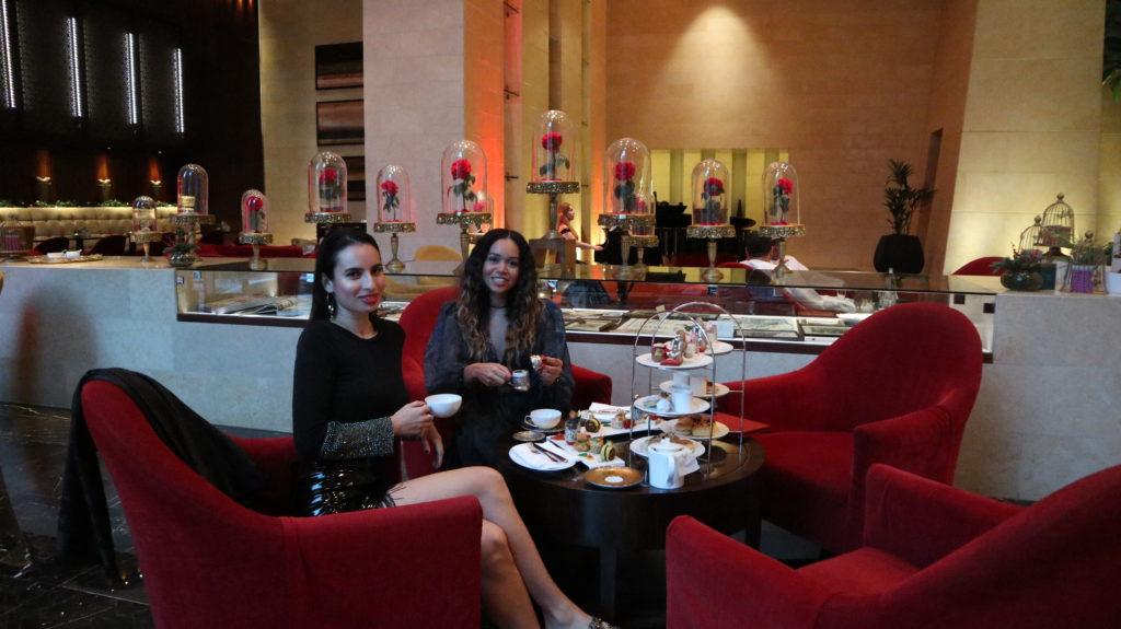 Raffles Dubai High Afternoon Tea Rosi Ross